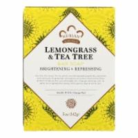 Nubian Heritage Lemongrass Tea Tree Bar - 5 oz
