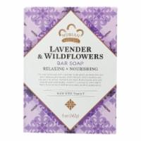 Nubian Heritage Lavender & Wildflowers Shea Butter Soap - 5 oz