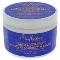 Shea Moisture Mongongo and Hemp Seed Oils High Porosity MoistureCorrect Masque 12 oz - 12 oz