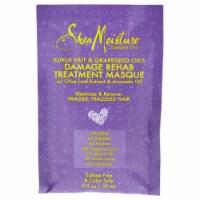 Shea Moisture Kukui Nut & Grapeseed Oils Damage Rehab Treatment Masque 2 oz