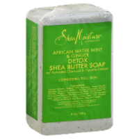 Shea Moisture African Water Mint & Ginger Detox Shea Butter Soap