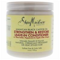 Shea Moisture Jamaican Black Castor Oil Strengthen and Restore LeaveIn Conditioner - 6 oz