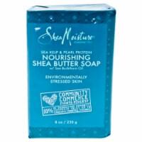 Shea Moisture Sea Kelp and Pearl Protein Shea Butter Soap Bar Soap 8 oz - 8 oz