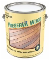 Preserva Wood  Transparent  Exotic Hardwood  Oil-Based  Penetrating Wood Stain and Sealer  1 - Case of: 4
