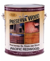 Preserva Wood  Transparent  Matte  Pacific Redwood  Oil-Based  Oil-Based  Stain and Sealer  1 - Case of: 4