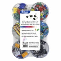 Push Pin, Paper Clip, Binder Clip, Magnetic Button Combo Set - 1