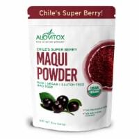 Certified Organic Maqui Berry Powder 8 Oz - Chile Freeze Dried Antioxidant-Rich Superfood - Each