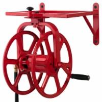 Liberty Garden Revolution Industrial Grade Rotating Garden Hose Holder Reel, Red - 1 Piece