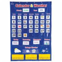 Learning Resources® Calendar and Weather Pocket Chart - 1 ct