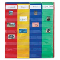 2 & 4 Column Double-Sided Pocket Chart - 1