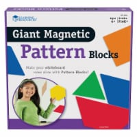 Learning Resources® Giant Magnetic Pattern Blocks