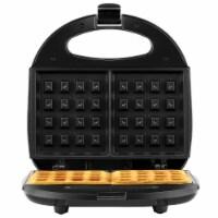 Continental 2-Slice Waffle Maker Black
