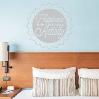 VWAQ Happiness is a State of Activity Motivational Wall Decal - 1