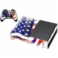 VWAQ American Flag Xbox One SkinsFor Console And Controller - XGC11 - 1