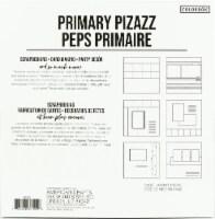 Colorbok Textured Cardstock Pad 12 X12  30/Pkg-Primary Pizazz - 1