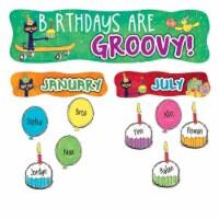 Edupress EP-3649 Pete The Cat Happy Birthday Mini Bulletin Board