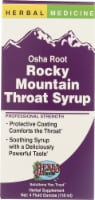 Herbs Etc Herbal Medicine Osha Root Rocky Mountain Throat Syrup Supplement