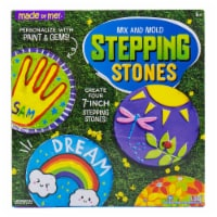 Made By Me Mix and Mold Stepping Stones Kit - 1 ct