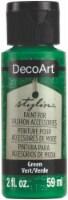DecoArt Stylin Paint 2oz-Green - 1