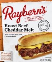 Raybern's Roast Beef Cheddar Melt Sandwich