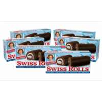 Little Debbie Swiss Rolls, 6 Boxes, 36 Chocolate Cake Rolls Layered With Creme - 36