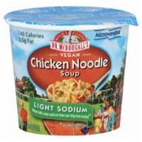 Dr. McDougall`s Vegan Chicken Noodle Light Sodium Soup - 1.4 oz