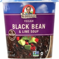 Dr. McDougall's Vegan Black Bean & Lime Soup - 3.4 oz