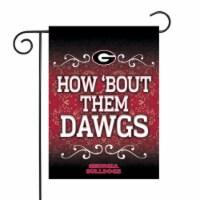 Rico GF110101 13 x 18 in. NCAA Georgia Bulldogs University Garden Flag