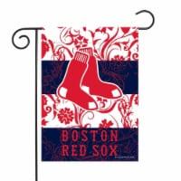 Rico GF3901 13 x 18 in. MLB Boston Red Sox Garden Flag