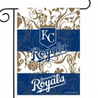 Rico GF4401 13 x 18 in. MLB Kansas City Royals Garden Flag