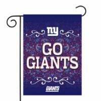 Rico GF1401 13 x 18 in. NFL New York Giants New York Giants Garden Flag