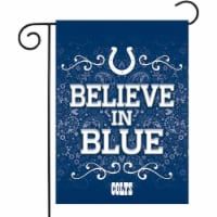 Rico GF2601 13 x 18 in. NFL Indianapolis Colts Garden Flag