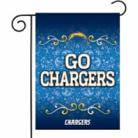 Rico GF3401 13 x 18 in. NFL Los Angeles Chargers Garden Flag