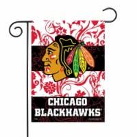 Rico GF7701 13 x 18 in. NHL Chicago Blackhawks Blackhawks Garden Flag