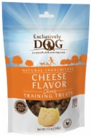 Exclusively Dog Cheese Flavor Chewy Training Treats