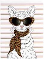 Paper House Life Organized Fashionable Cat Soft Cover Journal - 1 ct