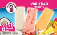 La Michoacana Variety Paletas Mini Ice Cream Bars - 12 ct / 1.76 fl oz