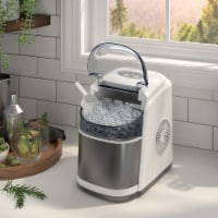 Kumo Portable Ice Maker Countertop - 9 Ice Cubes Ready in 6 Min Electric Ice Making Machine - 1 unit