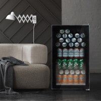 Kumo Beverage refrigerator or Wine Cooler Mini Fridge freestanding for Home, Office or Bar - 1 Unit