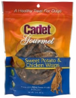 Cadet Gourmet Sweet Potato and Chicken Wraps Dog Treats