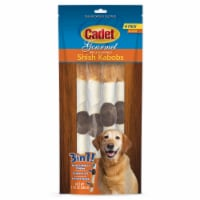 Cadet Triple Flavor Shish Kabob Dog Treats
