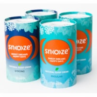Snoooze Sleep Aid Drink, Night Time Liquid Supplement (Variety) Natural, Vegan, Gluten-Free - 4 cans @ 4.6 oz./can