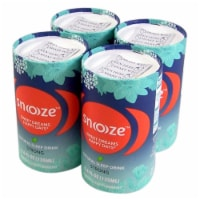 Snoooze Sleep Aid Drink, Night Time Liquid Supplement (Strong) Natural, Vegan, Gluten-Free - 4 cans @ 4.6 oz./can