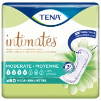 Tena Intimates Moderate Absorbency Long Pads