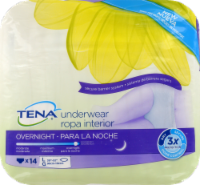 Tena Overnight Underwear Large