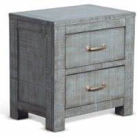 Sunny Designs Ranch House 24  2-drawer Wood Night Stand in Little Boy Blue - 1