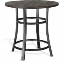 Sunny Designs Metroflex Mid-Century Wood Counter Height Table in Tobacco Leaf - 1