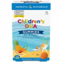 Nordic Naturals Children's DHA Tropical Punch Gummies