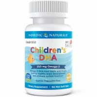 Nordic Naturals Children's DHA Strawberry Chewables 250mg