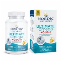 Nordic Naturals Ultimate Omega + CoQ10 Soft Gels